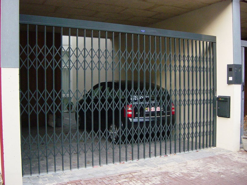 Folding Gates Front Security